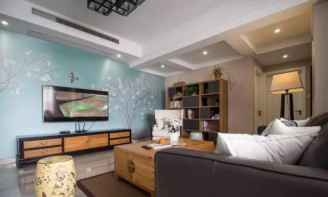 【家装日记】这些好看的背景墙 让你看电视都分心! 背景,电视,电视墙,隔板,简单 第17张图片