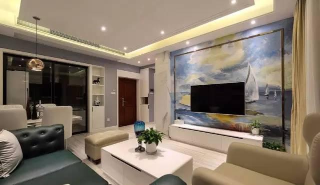 【家装日记】这些好看的背景墙 让你看电视都分心! 背景,电视,电视墙,隔板,简单 第20张图片