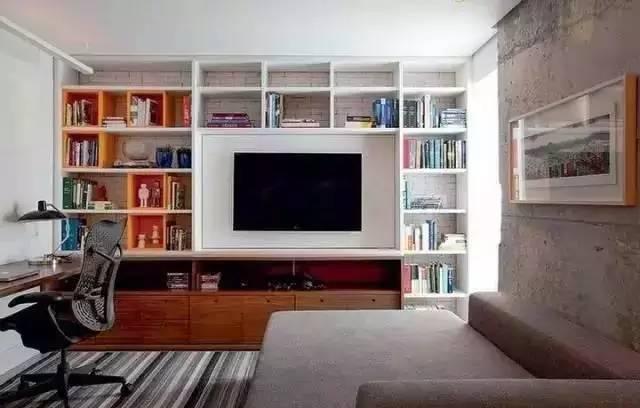 【家装日记】这些好看的背景墙 让你看电视都分心! 背景,电视,电视墙,隔板,简单 第22张图片