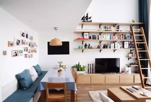 【家装日记】这些好看的背景墙 让你看电视都分心! 背景,电视,电视墙,隔板,简单 第21张图片