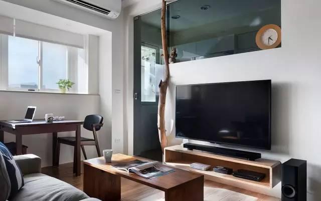 【家装日记】这些好看的背景墙 让你看电视都分心! 背景,电视,电视墙,隔板,简单 第29张图片