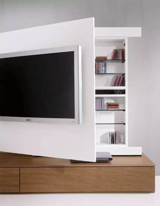 【家装日记】这些好看的背景墙 让你看电视都分心! 背景,电视,电视墙,隔板,简单 第33张图片