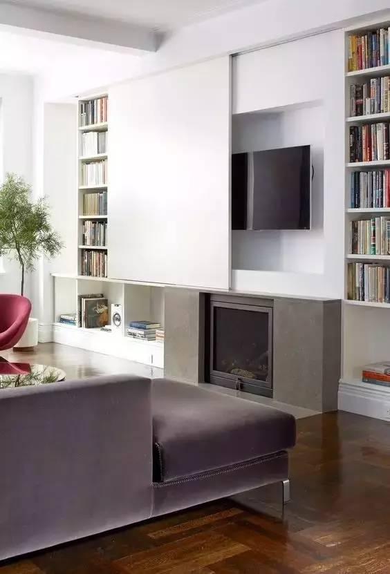 【家装日记】这些好看的背景墙 让你看电视都分心! 背景,电视,电视墙,隔板,简单 第36张图片