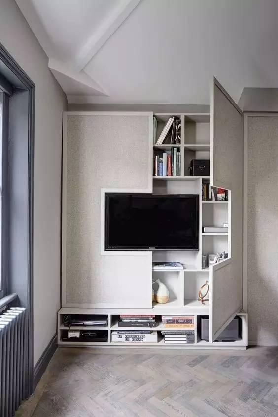 【家装日记】这些好看的背景墙 让你看电视都分心! 背景,电视,电视墙,隔板,简单 第34张图片