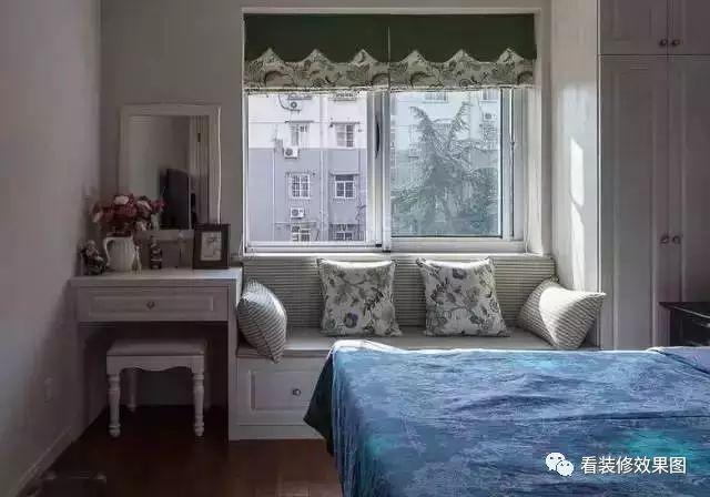 装修:看飘窗装修效果图,让你家的窗户装修不再单调!