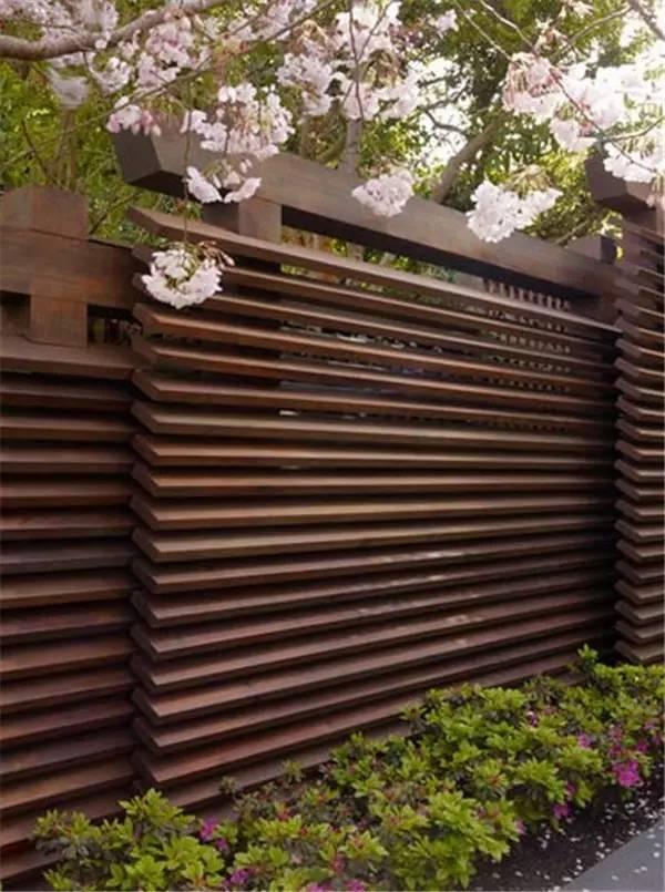 【家装】如果我家有个院子 围墙就这么设计! 家装,如果,我家,家有,院子 第8张图片