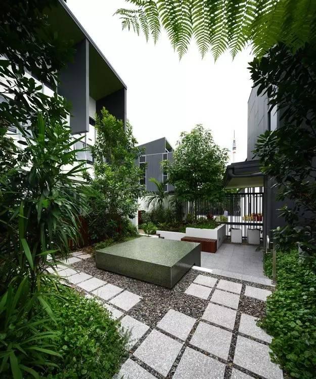 【家居装修】100个美美的院子,总有一款是你的菜! 舒适,时光,家居装修,院子,一款 第5张图片