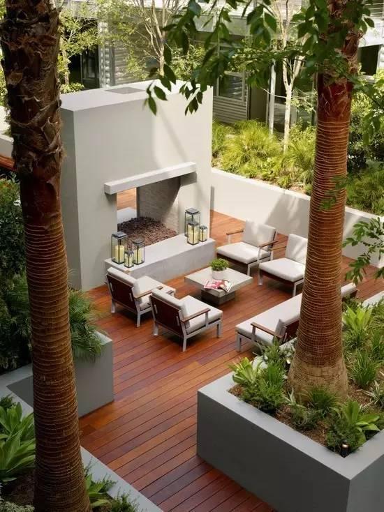 【家居装修】100个美美的院子,总有一款是你的菜! 舒适,时光,家居装修,院子,一款 第6张图片