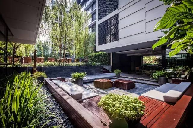 【家居装修】100个美美的院子,总有一款是你的菜! 舒适,时光,家居装修,院子,一款 第11张图片