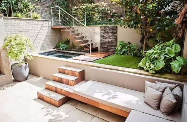 【家居装修】100个美美的院子,总有一款是你的菜! 舒适,时光,家居装修,院子,一款 第9张图片