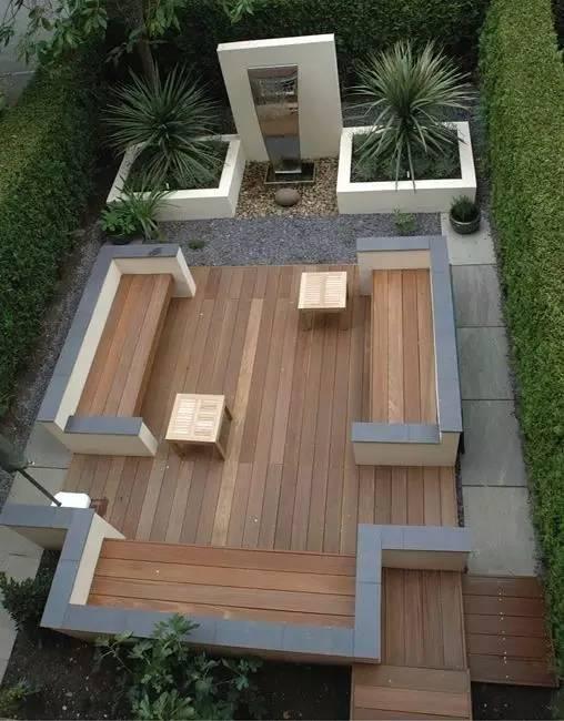 【家居装修】100个美美的院子,总有一款是你的菜! 舒适,时光,家居装修,院子,一款 第15张图片
