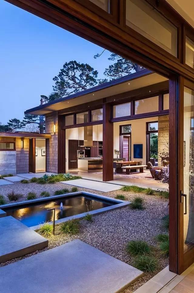 【家居装修】100个美美的院子,总有一款是你的菜! 舒适,时光,家居装修,院子,一款 第17张图片