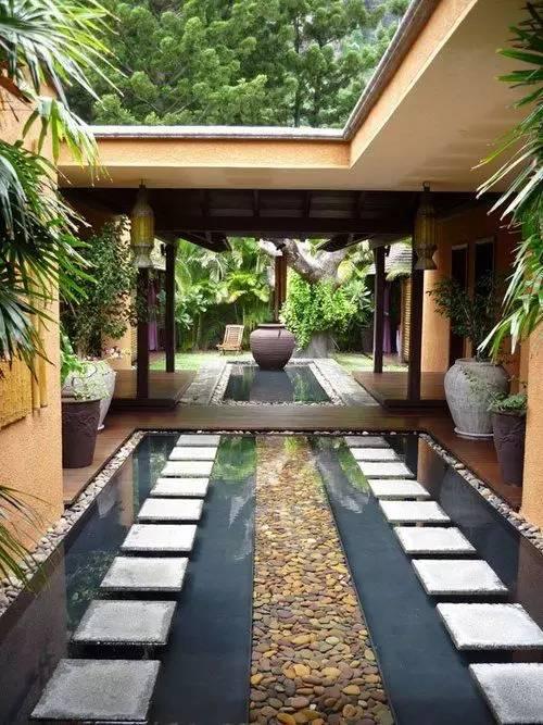 【家居装修】100个美美的院子,总有一款是你的菜! 舒适,时光,家居装修,院子,一款 第18张图片