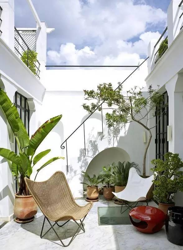 【家居装修】100个美美的院子,总有一款是你的菜! 舒适,时光,家居装修,院子,一款 第25张图片