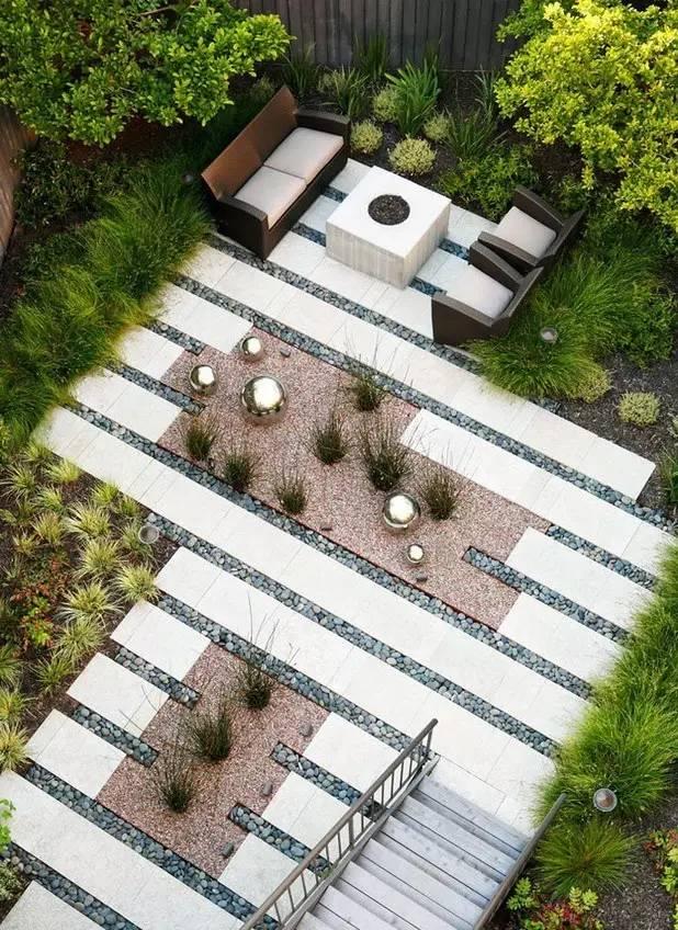 【家居装修】100个美美的院子,总有一款是你的菜! 舒适,时光,家居装修,院子,一款 第32张图片