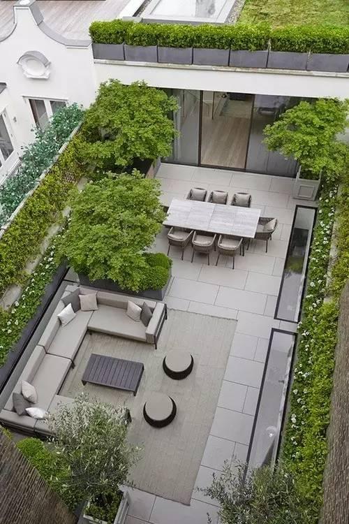 【家居装修】100个美美的院子,总有一款是你的菜! 舒适,时光,家居装修,院子,一款 第34张图片