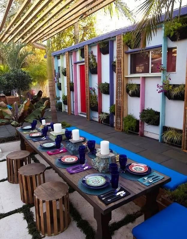 【家居装修】100个美美的院子,总有一款是你的菜! 舒适,时光,家居装修,院子,一款 第39张图片