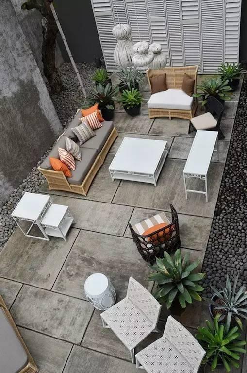 【家居装修】100个美美的院子,总有一款是你的菜! 舒适,时光,家居装修,院子,一款 第37张图片