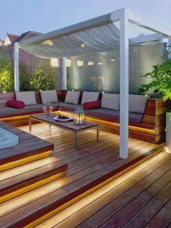 【家居装修】100个美美的院子,总有一款是你的菜! 舒适,时光,家居装修,院子,一款 第48张图片