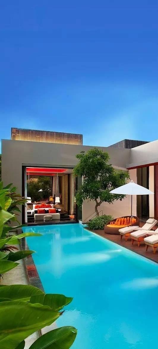 【家居装修】100个美美的院子,总有一款是你的菜! 舒适,时光,家居装修,院子,一款 第51张图片