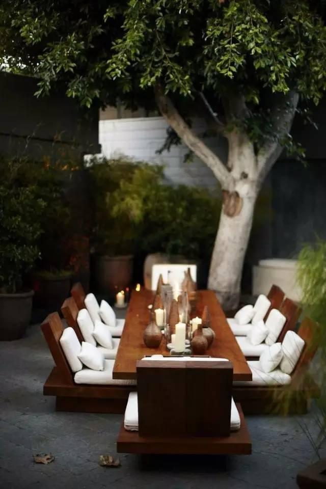 【家居装修】100个美美的院子,总有一款是你的菜! 舒适,时光,家居装修,院子,一款 第61张图片