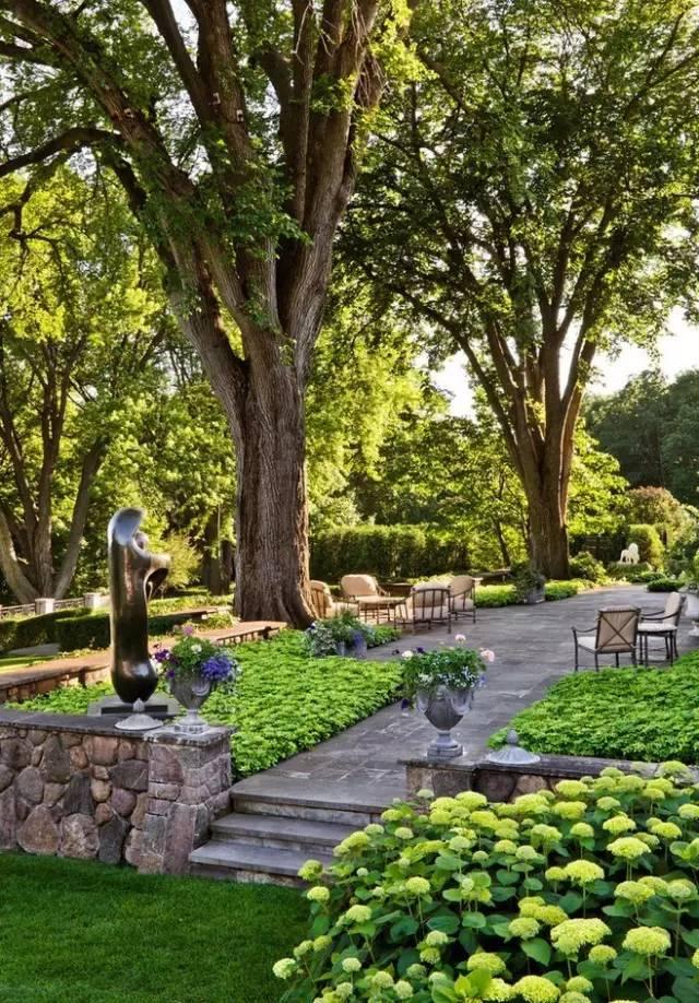 【家居装修】100个美美的院子,总有一款是你的菜! 舒适,时光,家居装修,院子,一款 第62张图片