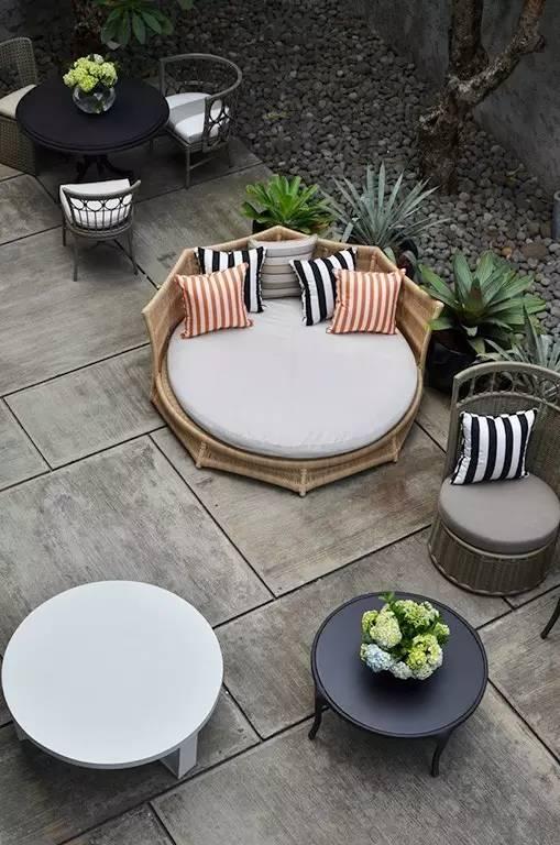 【家居装修】100个美美的院子,总有一款是你的菜! 舒适,时光,家居装修,院子,一款 第76张图片