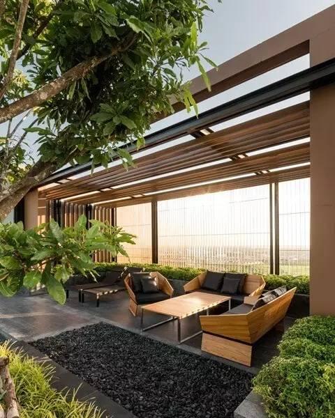 【家居装修】100个美美的院子,总有一款是你的菜! 舒适,时光,家居装修,院子,一款 第94张图片