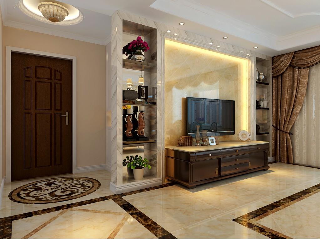 四室两厅户型简欧风格装修效果图 四室,两厅,户型,简欧风格,风格 第2张图片