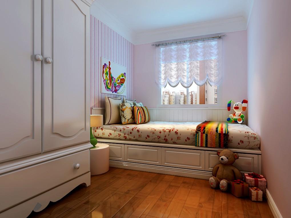 四室两厅户型简欧风格装修效果图 四室,两厅,户型,简欧风格,风格 第6张图片