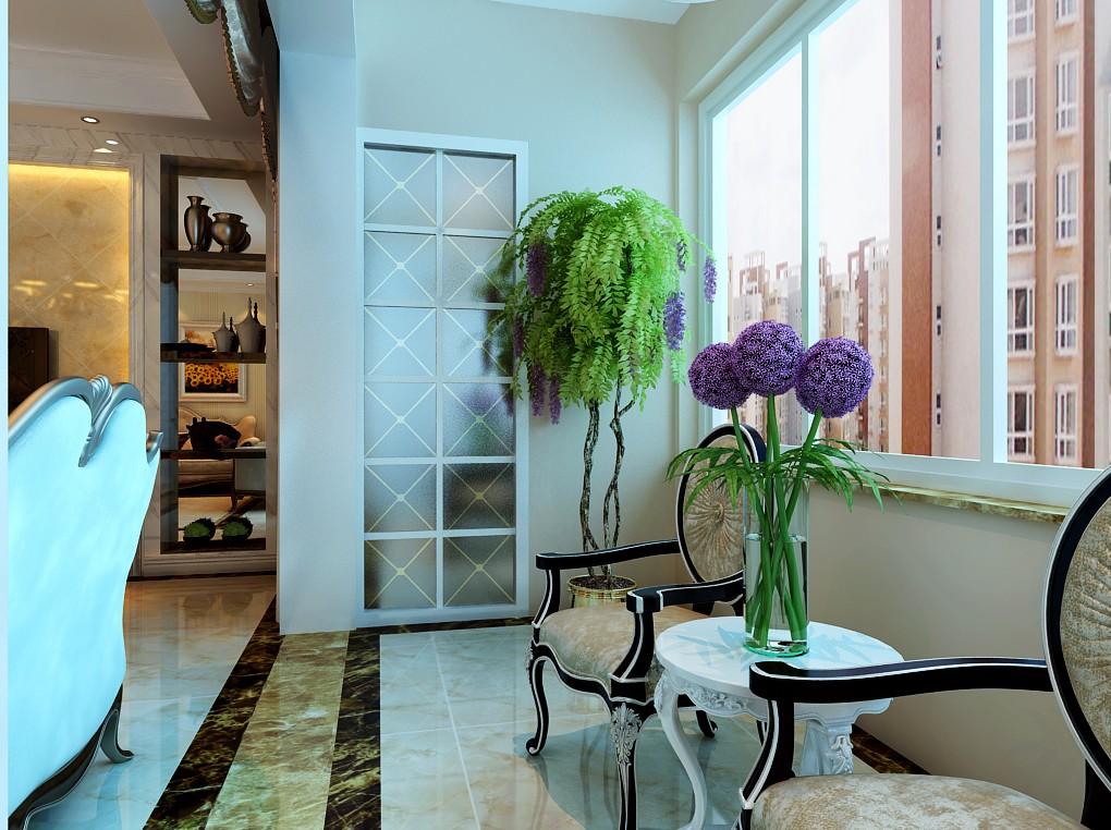 四室两厅户型简欧风格装修效果图 四室,两厅,户型,简欧风格,风格 第8张图片