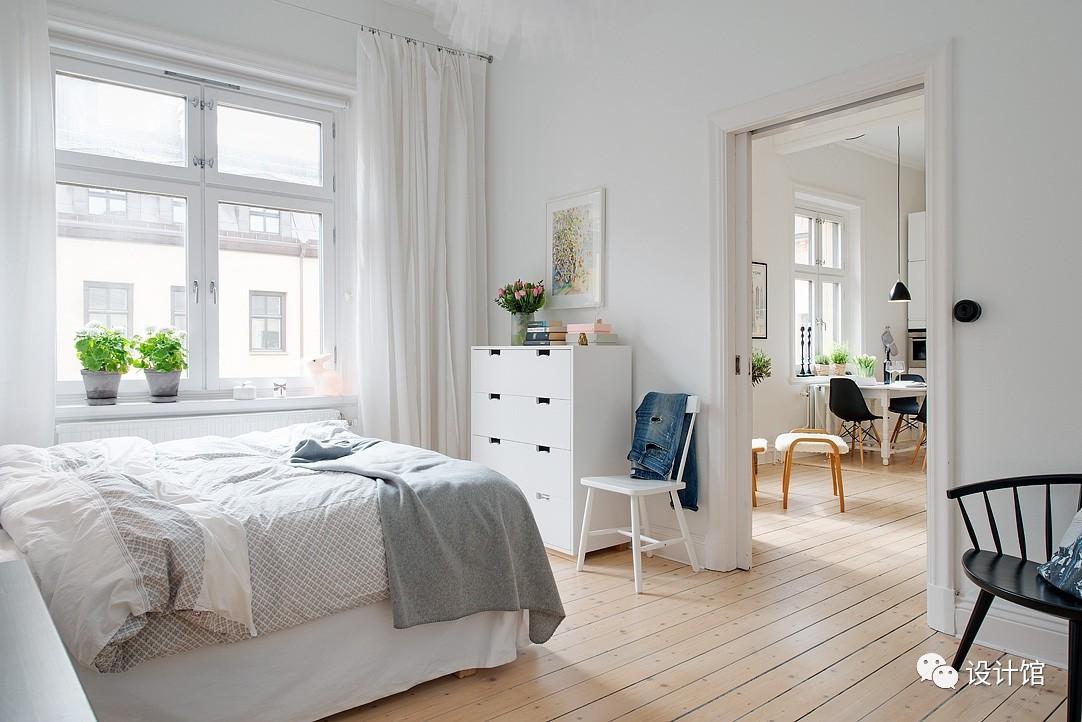 58㎡明快北欧公寓,一个人的生活也很美妙 阳光,大衣橱,一个人的生活,北欧,公寓 第20张图片