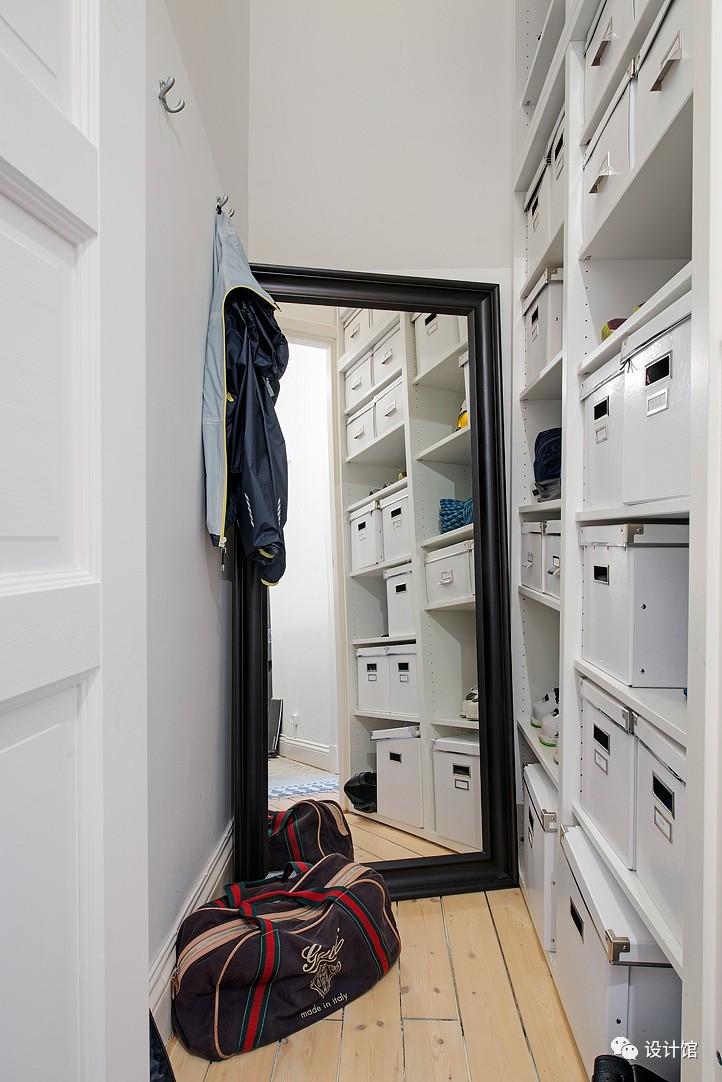 58㎡明快北欧公寓,一个人的生活也很美妙 阳光,大衣橱,一个人的生活,北欧,公寓 第3张图片