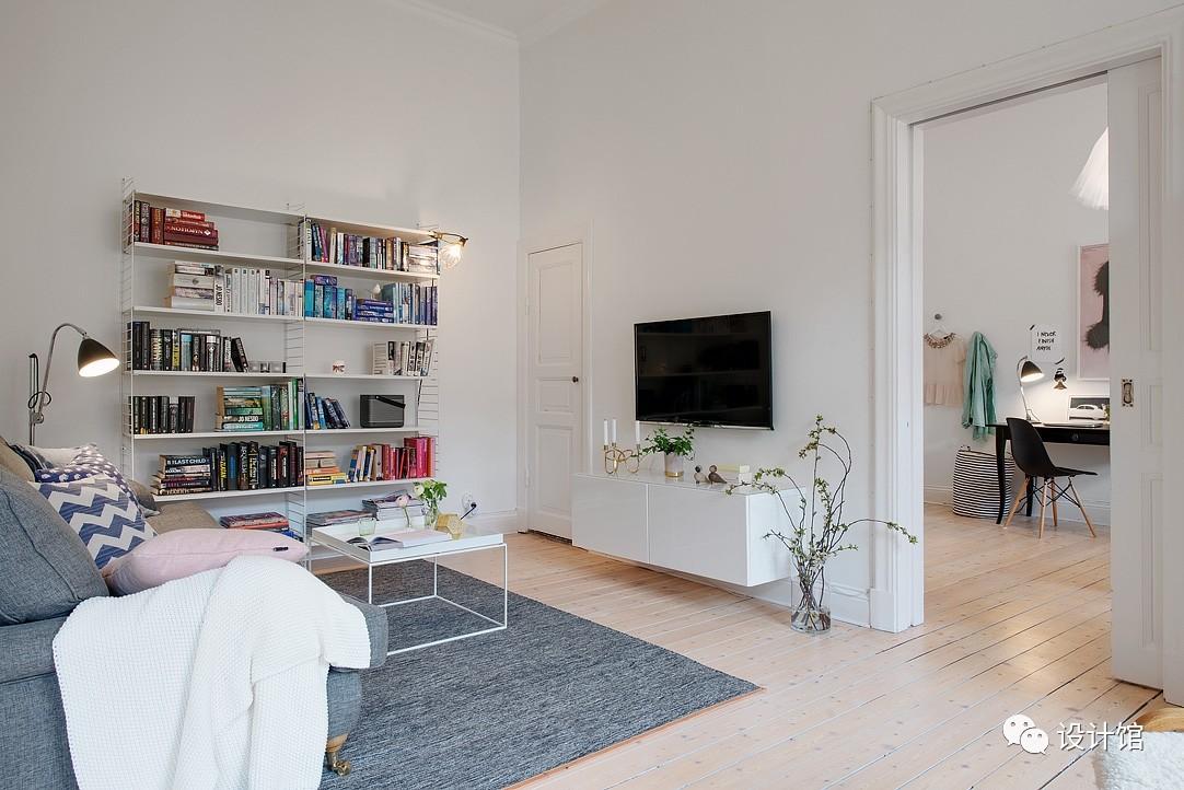 58㎡明快北欧公寓,一个人的生活也很美妙 阳光,大衣橱,一个人的生活,北欧,公寓 第6张图片