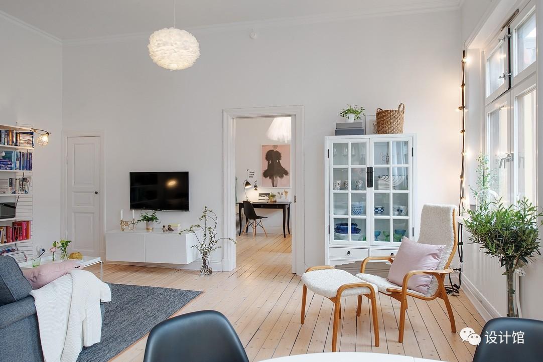 58㎡明快北欧公寓,一个人的生活也很美妙 阳光,大衣橱,一个人的生活,北欧,公寓 第19张图片