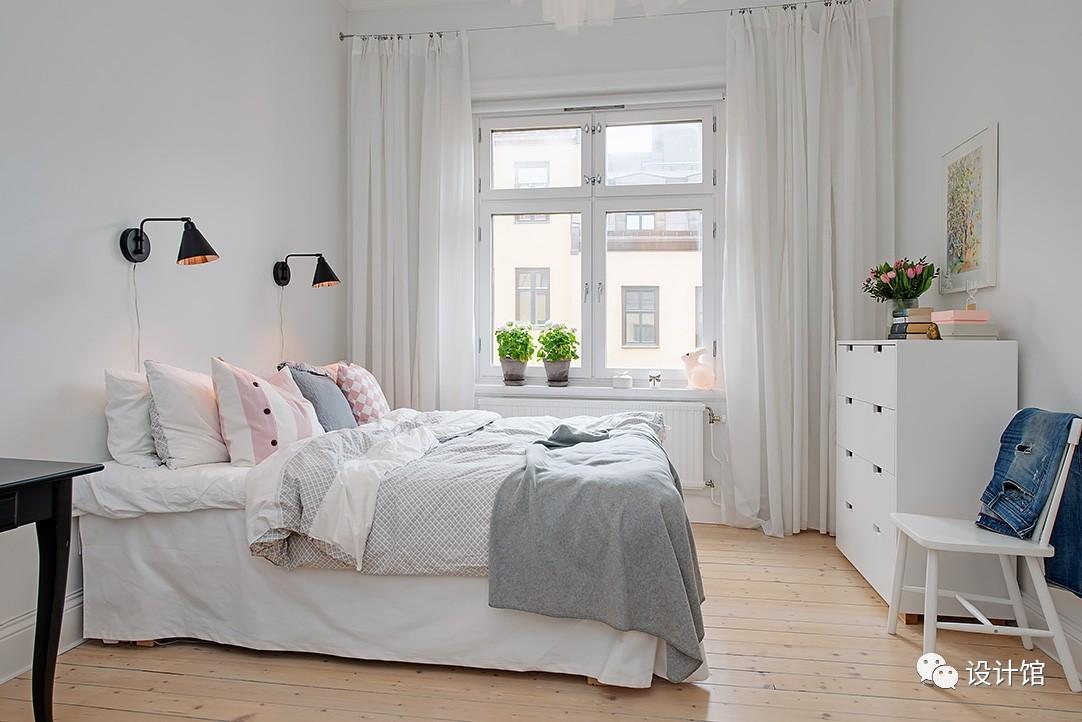 58㎡明快北欧公寓,一个人的生活也很美妙 阳光,大衣橱,一个人的生活,北欧,公寓 第22张图片