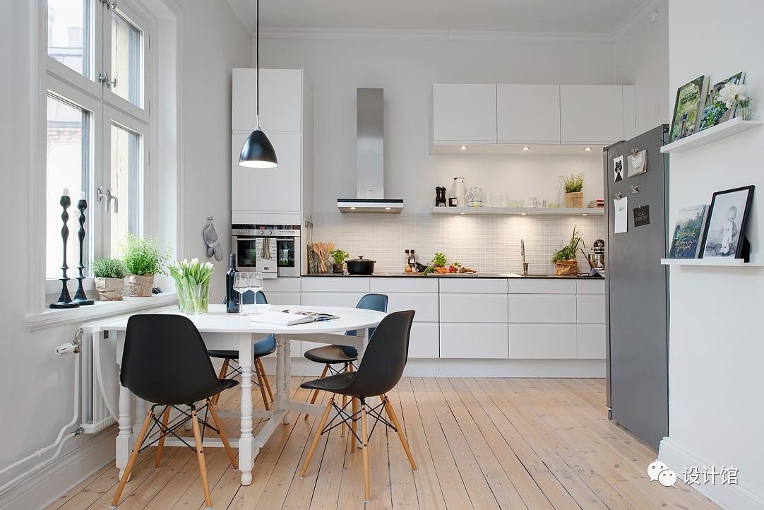 58㎡明快北欧公寓,一个人的生活也很美妙 阳光,大衣橱,一个人的生活,北欧,公寓 第9张图片