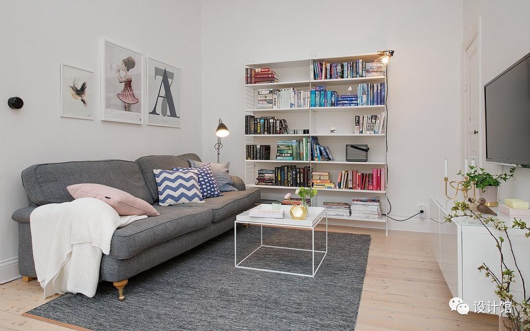 58㎡明快北欧公寓,一个人的生活也很美妙 阳光,大衣橱,一个人的生活,北欧,公寓 第5张图片