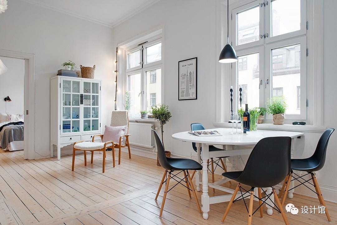 58㎡明快北欧公寓,一个人的生活也很美妙 阳光,大衣橱,一个人的生活,北欧,公寓 第12张图片