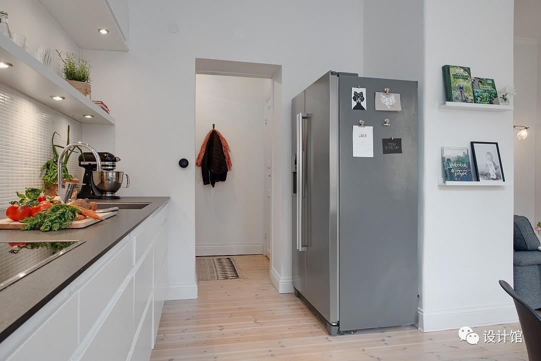 58㎡明快北欧公寓,一个人的生活也很美妙 阳光,大衣橱,一个人的生活,北欧,公寓 第15张图片