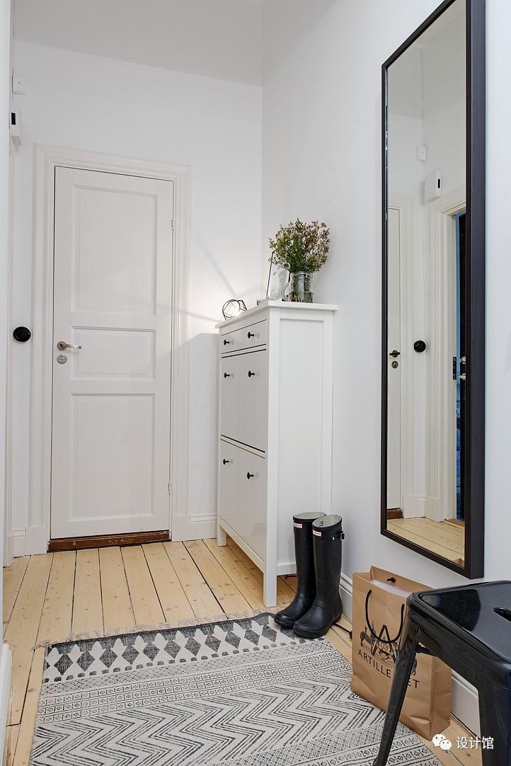 58㎡明快北欧公寓,一个人的生活也很美妙 阳光,大衣橱,一个人的生活,北欧,公寓 第2张图片