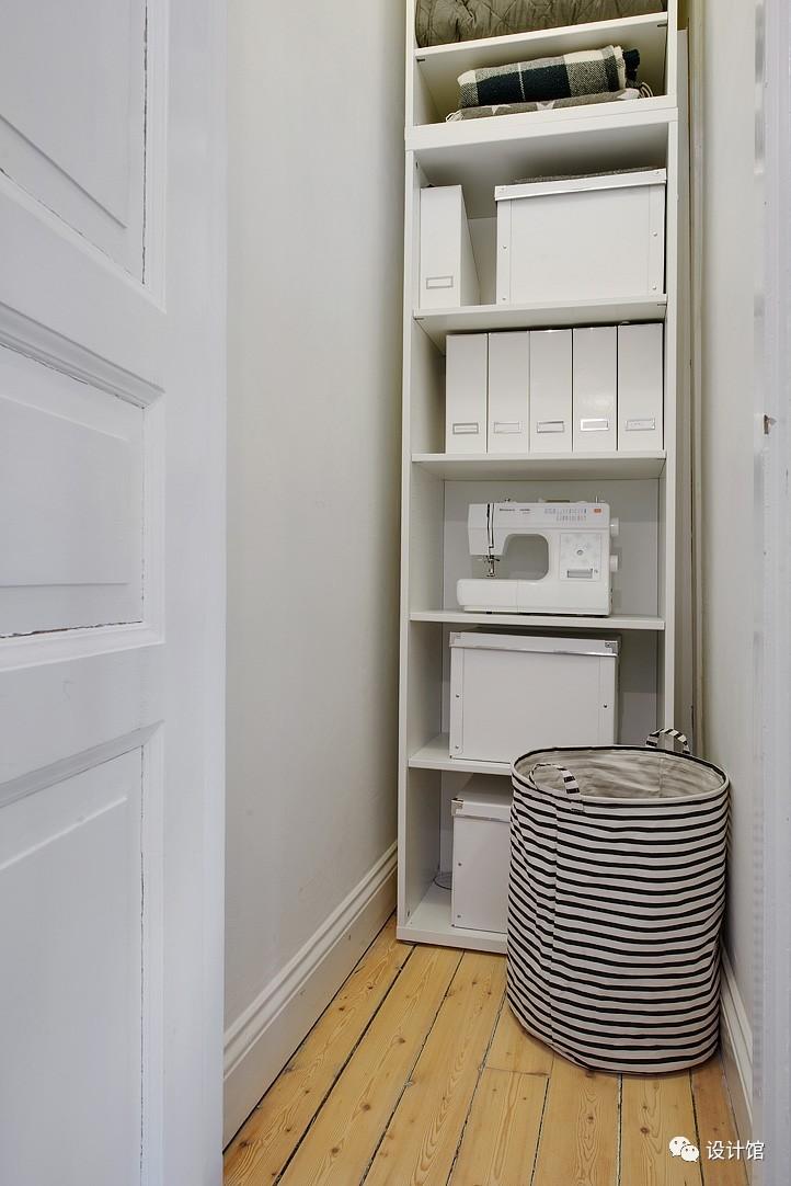 58㎡明快北欧公寓,一个人的生活也很美妙 阳光,大衣橱,一个人的生活,北欧,公寓 第4张图片