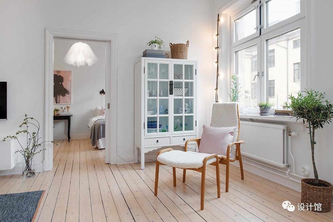 58㎡明快北欧公寓,一个人的生活也很美妙 阳光,大衣橱,一个人的生活,北欧,公寓 第17张图片