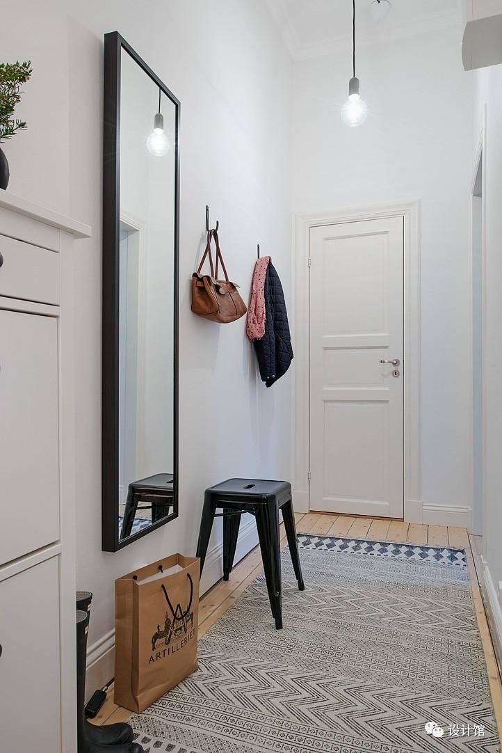 58㎡明快北欧公寓,一个人的生活也很美妙 阳光,大衣橱,一个人的生活,北欧,公寓 第1张图片