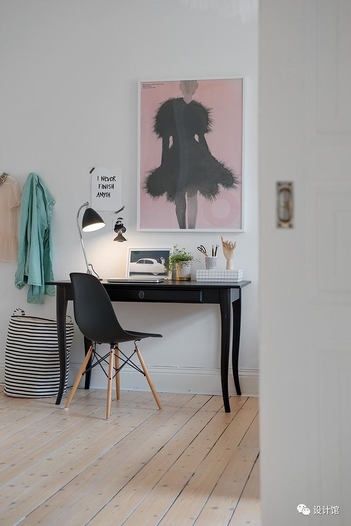 58㎡明快北欧公寓,一个人的生活也很美妙 阳光,大衣橱,一个人的生活,北欧,公寓 第24张图片
