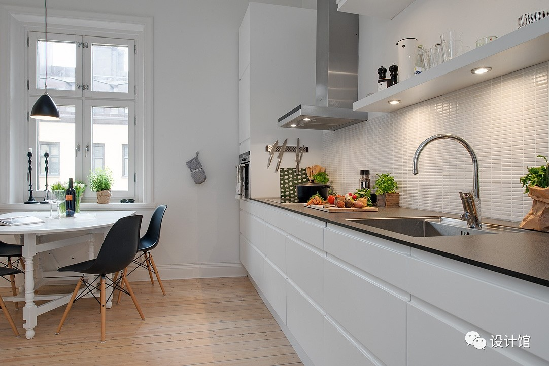 58㎡明快北欧公寓,一个人的生活也很美妙 阳光,大衣橱,一个人的生活,北欧,公寓 第14张图片