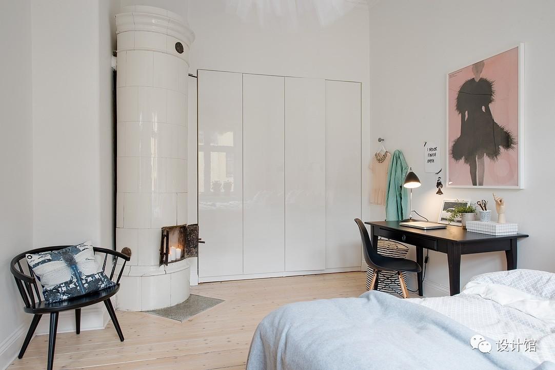 58㎡明快北欧公寓,一个人的生活也很美妙 阳光,大衣橱,一个人的生活,北欧,公寓 第23张图片