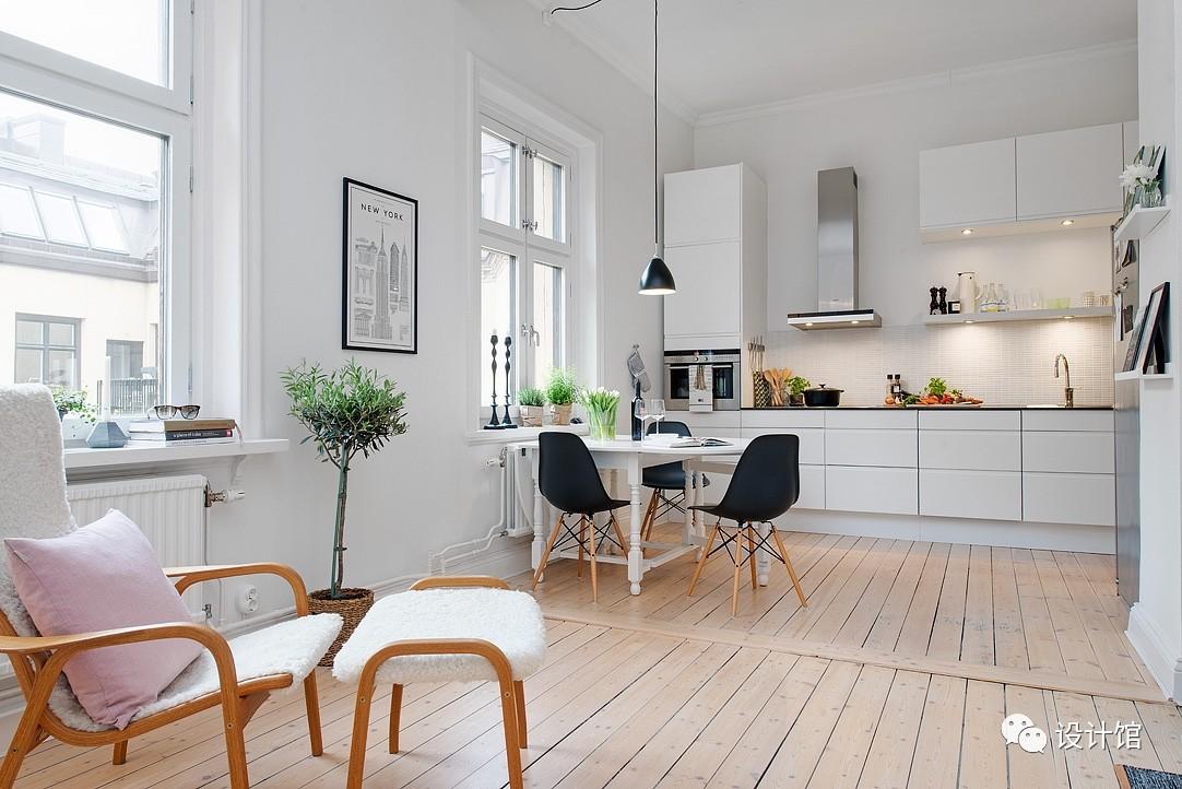 58㎡明快北欧公寓,一个人的生活也很美妙 阳光,大衣橱,一个人的生活,北欧,公寓 第10张图片