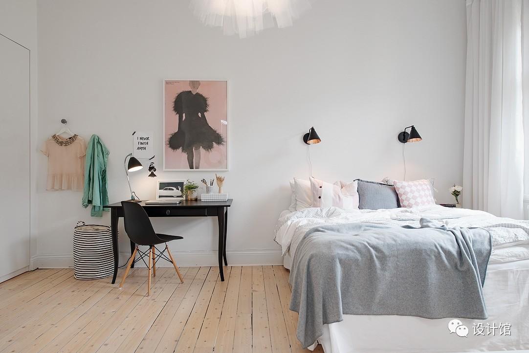 58㎡明快北欧公寓,一个人的生活也很美妙 阳光,大衣橱,一个人的生活,北欧,公寓 第21张图片