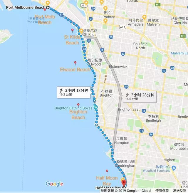 澳大利亚墨尔本「最美16KM海岸线」,TOP 5海滩散步+探店指南! ... 澳大利亚,利亚,墨尔本,最美,海岸线 第1张图片